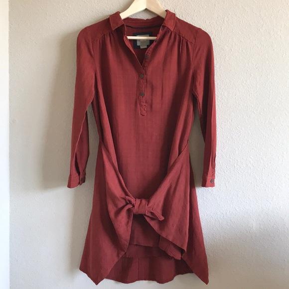 f7c96cb91fe0 Anthropologie Dresses   Skirts - Anthropologie Maeve Bloomsbury Tie Dress